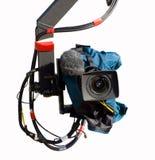 Fernsehapparat-Kamera Stockfoto