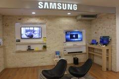 Fernsehapparate Samsung-Smart stockfotos