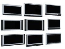 Fernsehbildschirme Lizenzfreie Stockbilder