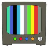 Fernsehen stock abbildung