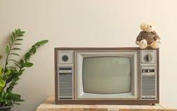 Fernsehen alt Stockfotografie