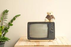 Fernsehen alt Stockbild