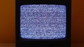 Fernsehen kein Signal stock video footage