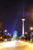 Fernsehen Kontrollturm oder fernsehturm in Berlin Lizenzfreies Stockfoto