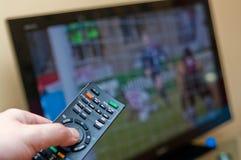 Fernsehentfernte station Stockbilder