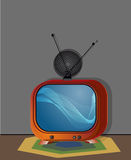 Fernseher-Gegenstand für Kommunikation Lizenzfreie Stockfotografie