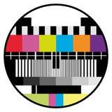 Fernsehfarben-Prüfung Lizenzfreie Stockfotografie