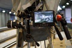 Fernsehkamera Stockfoto