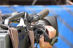 Fernsehkamera Lizenzfreie Stockfotografie
