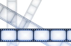Fernsehkanal-Film-Anleitung Stockbilder