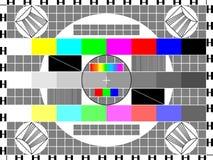 Fernsehkarte Lizenzfreies Stockfoto