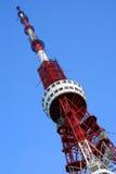 Fernsehkontrollturm Stockfoto