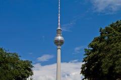 Fernsehkontrollturm in Berlin Stockfoto