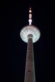Fernsehkontrollturm in Vilnius Lizenzfreie Stockbilder