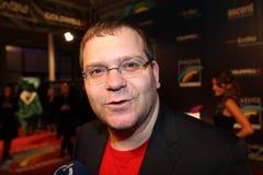 Fernsehmoderator Elton Immagini Stock