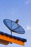 FernsehSatellitenschüssel Lizenzfreie Stockfotos