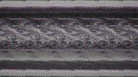 Fernsehschirm-Digital-Pixel-Schnee-Geräusche stock abbildung