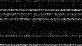 Fernsehschirm-weiße Geräusche Static stock video