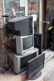 Fernsehshop in Nizwa, Oman Lizenzfreie Stockbilder