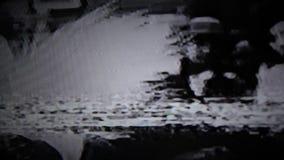 Fernsehstörgeräusch stock video
