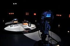 Fernsehstudio Stockbild
