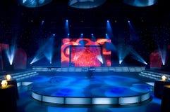 Fernsehstudio Stockfoto