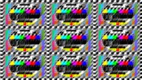 Fernsehtestbild Stockfotografie