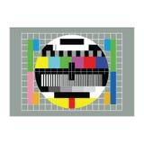 Fernsehtestvektor Stockbild
