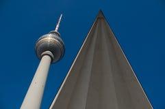 Fernsehturm Берлин Стоковое Изображение RF