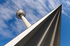 Fernsehturm Royalty Free Stock Images