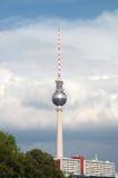 Fernsehturm. Berlin Fernsehturm in Alexanderplatz, Berlin Royalty Free Stock Photography