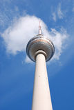 Fernsehturm. The TV Tower located on the Alexanderplatz in Berlin, Germany Stock Photography