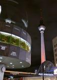 Fernsehturm alexanderplatz clock Stock Photography
