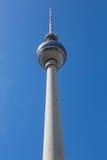 Fernsehturm Berlijn Stock Afbeelding