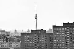 Fernsehturm in Berlijn Royalty-vrije Stock Afbeelding