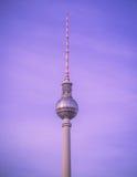 Fernsehturm in Berlijn, Duitsland Stock Fotografie