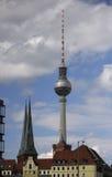 Fernsehturm Berlim Foto de Stock Royalty Free
