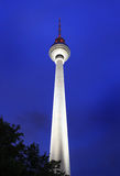 Fernsehturm Berlim - torre da tevê, Alemanha Foto de Stock Royalty Free