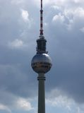 Fernsehturm Berlin Royalty Free Stock Image