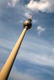 Fernsehturm Berlin Arkivbild