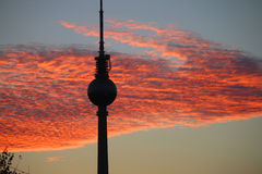 Fernsehturm Berlin Stockbild