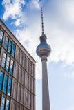 Fernsehturm, Berlin Alexanderplatz Stock Photography
