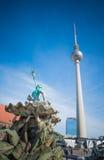 Fernsehturm in Berlin, Deutschland lizenzfreie stockbilder