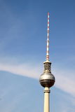 Fernsehturm Berlin. The Fernsehturm (English: Berlin TV Tower) is a television tower in central Berlin, Germany Royalty Free Stock Photography
