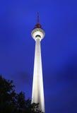 Fernsehturm Berlin - Fernsehkontrollturm, Deutschland Lizenzfreies Stockfoto