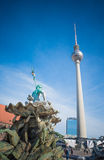 Fernsehturm in Berlin, Germany Royalty Free Stock Images
