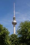 Fernsehturm Berlin. The tv tower of berlin Stock Photography