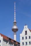 Fernsehturm Berlin. The tv tower of berlin Stock Photos