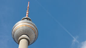 Fernsehturm berlinese (torretta) della TV, Berlino, Germania Fotografia Stock
