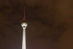 Fernsehturm berlinese (torretta) della TV, Berlino, Germania Immagine Stock Libera da Diritti